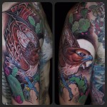 Cool Redtail tattoo