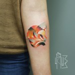 Cosy Fox Arm Tattoo