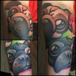 Cute Little Pug tattoo