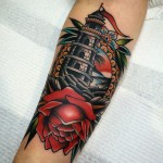19 Best Inspired Lighthouse tattoos