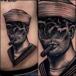 Graphic Classic Sailor