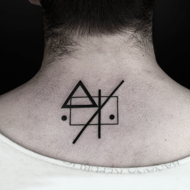 Home Symbol Geometry tattoo