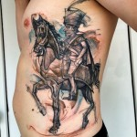 Horseman Body tattoo