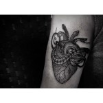 Little Snakes Poisoned Heart tattoo