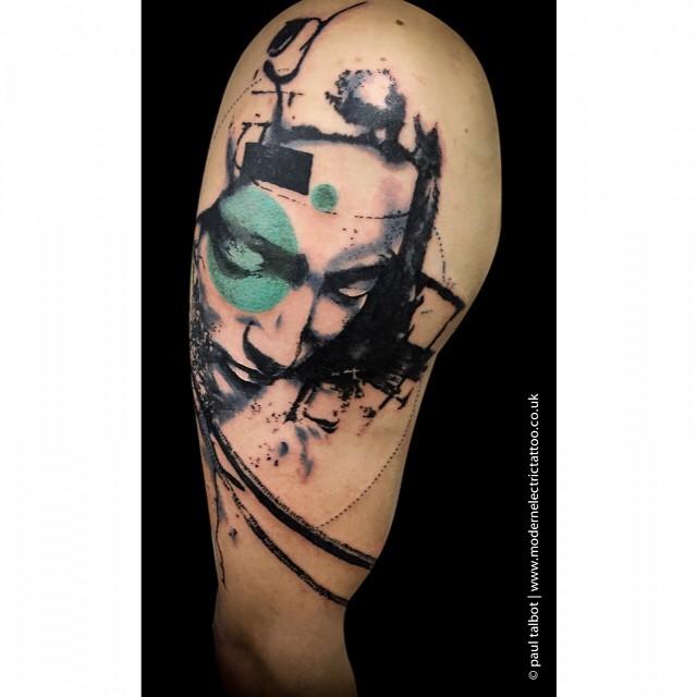 Michelangelo's Pietà Shoulder tattoo