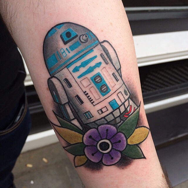 New School R2D2 on Arm