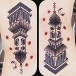 Night Church Body tattoo