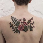 Flower Tattoos – Tender and Feminine
