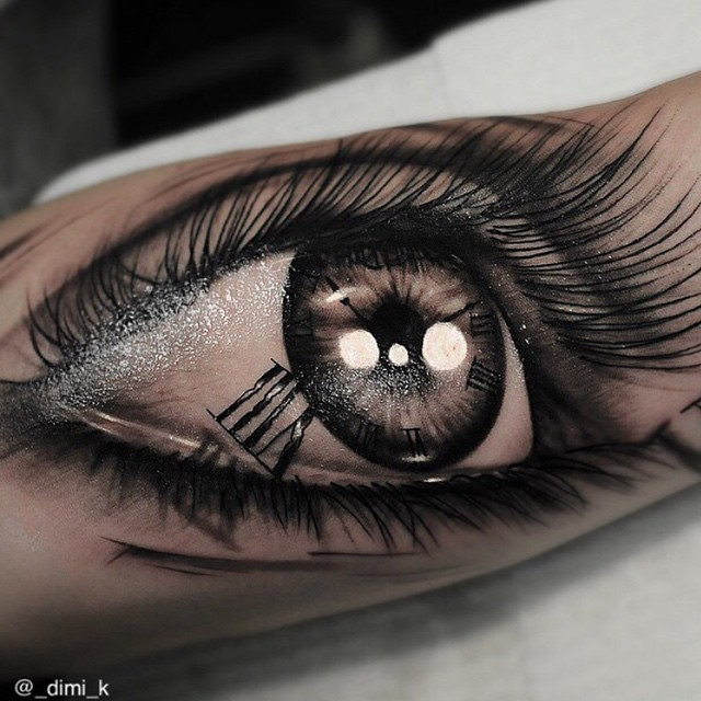 really detailed eye tattoo on arm best tattoo ideas gallery. Black Bedroom Furniture Sets. Home Design Ideas