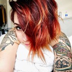 Red Haired Morning Girl
