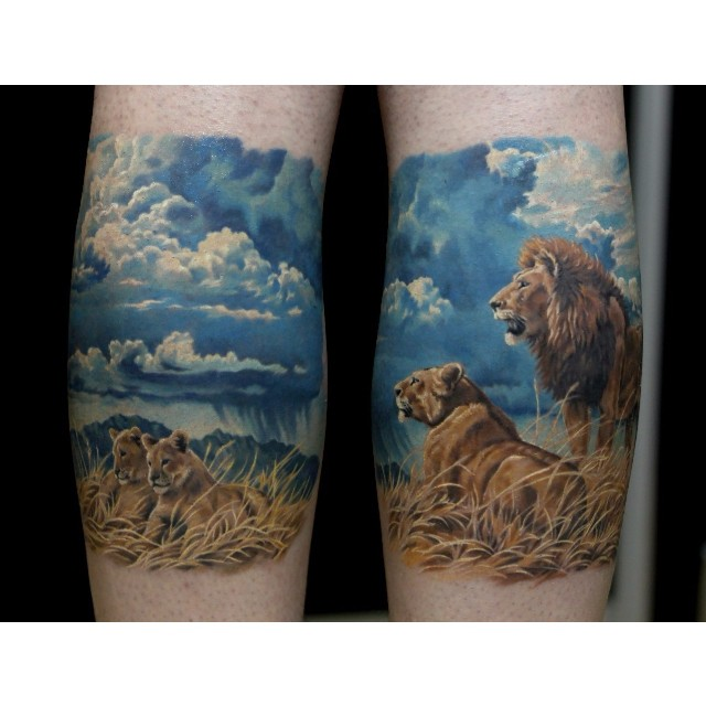 Savanna Lion Pride