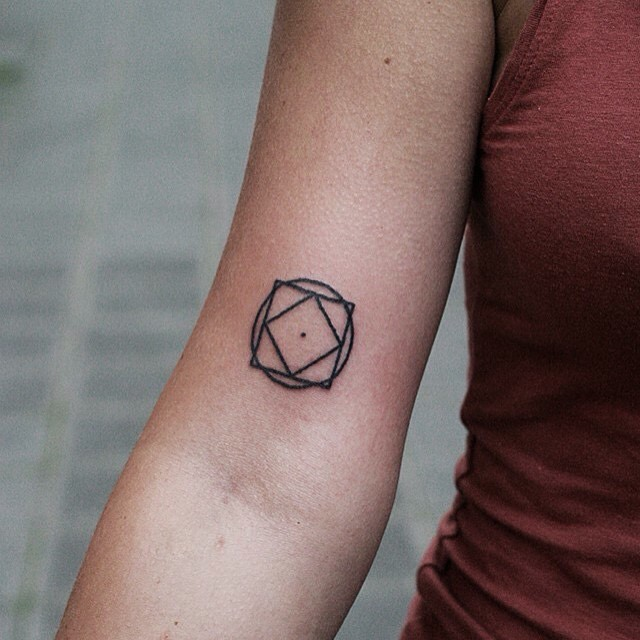 small geometry tattoo on arm best tattoo ideas gallery