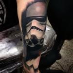Star Wars Trooper tattoo on Arm