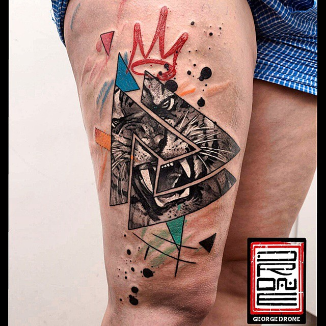 The Tiger King tattoo
