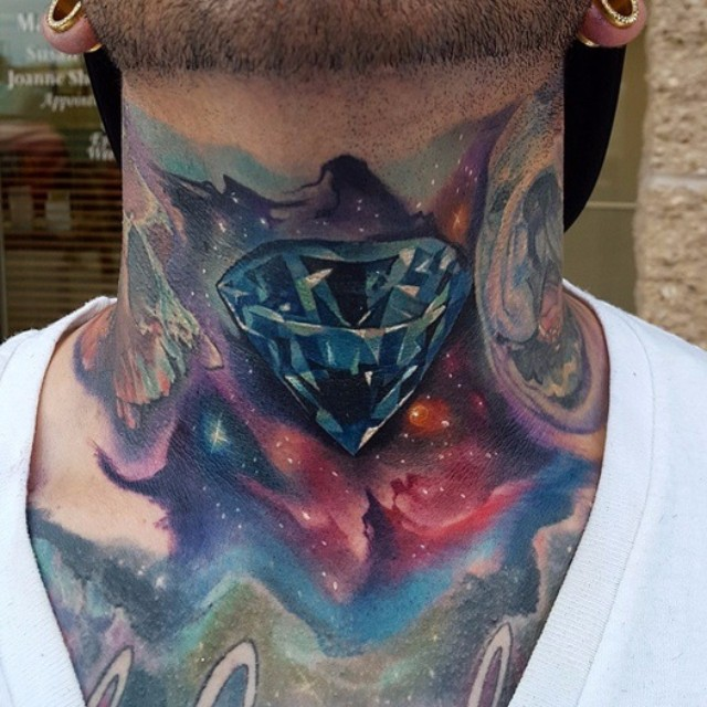 Universe Dimond on Neck