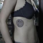 Ying Yang Libra Scorpion Zodiak tattoo