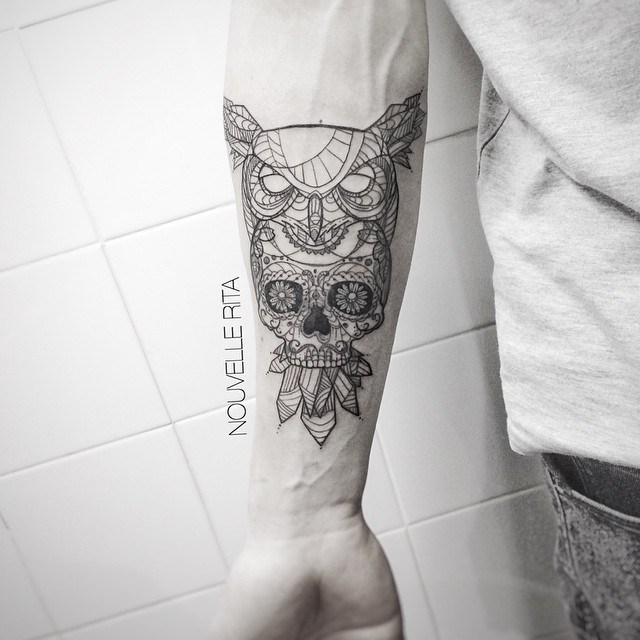 mexican owl tattoo3 сайт