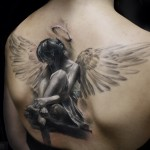 Different Angel Tattoos