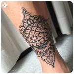 Ankle Leg Tattoo