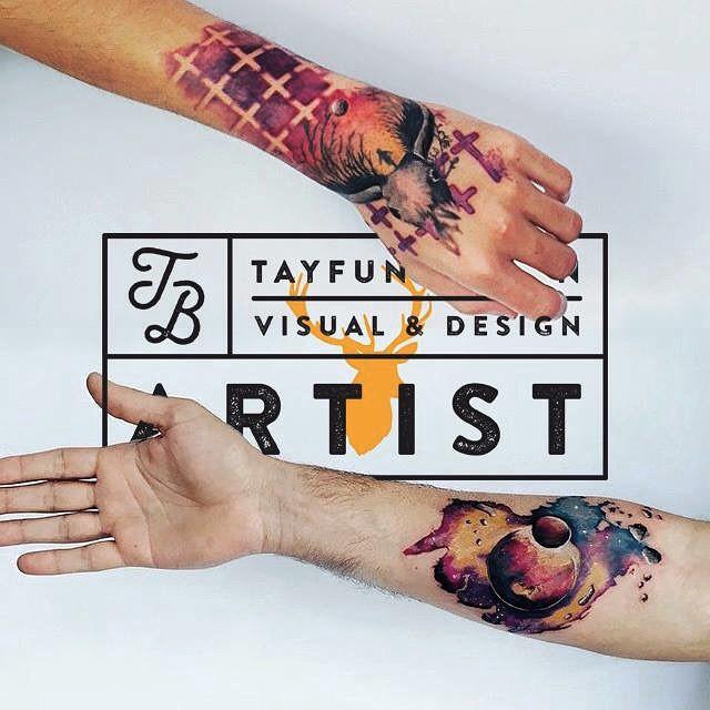 Hand and Wrist Tattoos