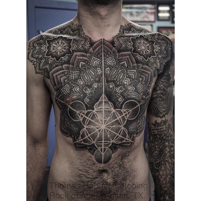 Incredibly Beautiful Body Tattoo