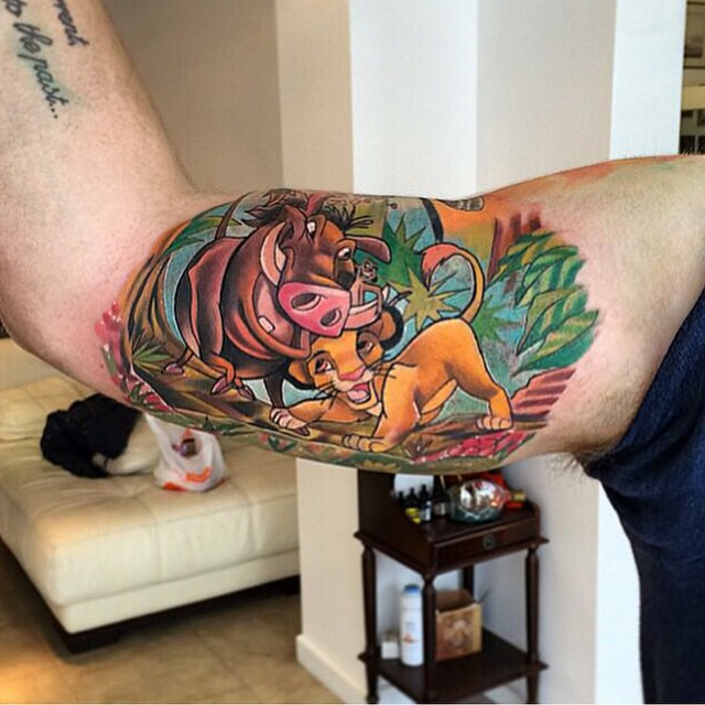 Lion King Tattoos Hakuna Matata
