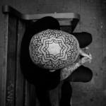 Pattern Flower Head Tattoo