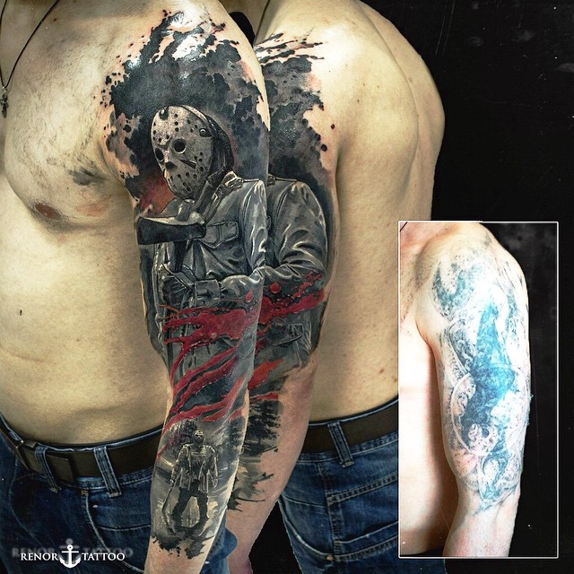Shoulder Jason Tattoo Sleeve
