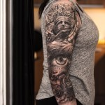 Shoulder Sleeve Tattoo