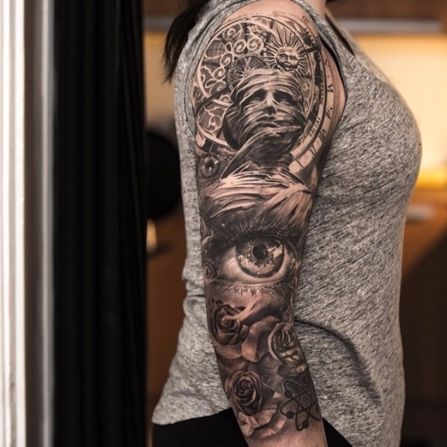 shoulder sleeve tattoo best tattoo ideas gallery. Black Bedroom Furniture Sets. Home Design Ideas