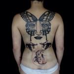 Soul Power Back Tattoo