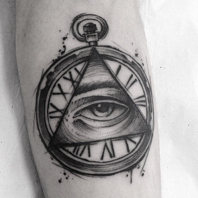 Eye With Triangle Tattoo: Best Tattoo Ideas Gallery