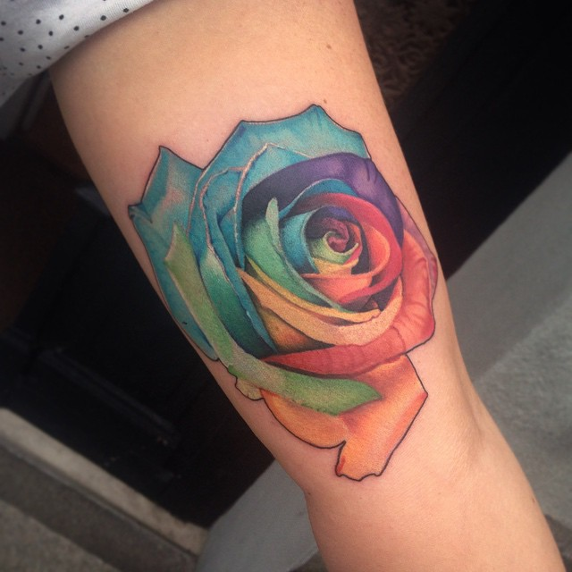rose flower tattoos