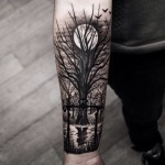 tree tattoo arm
