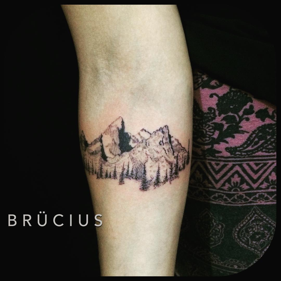 Beautiful Mountains Tattoo