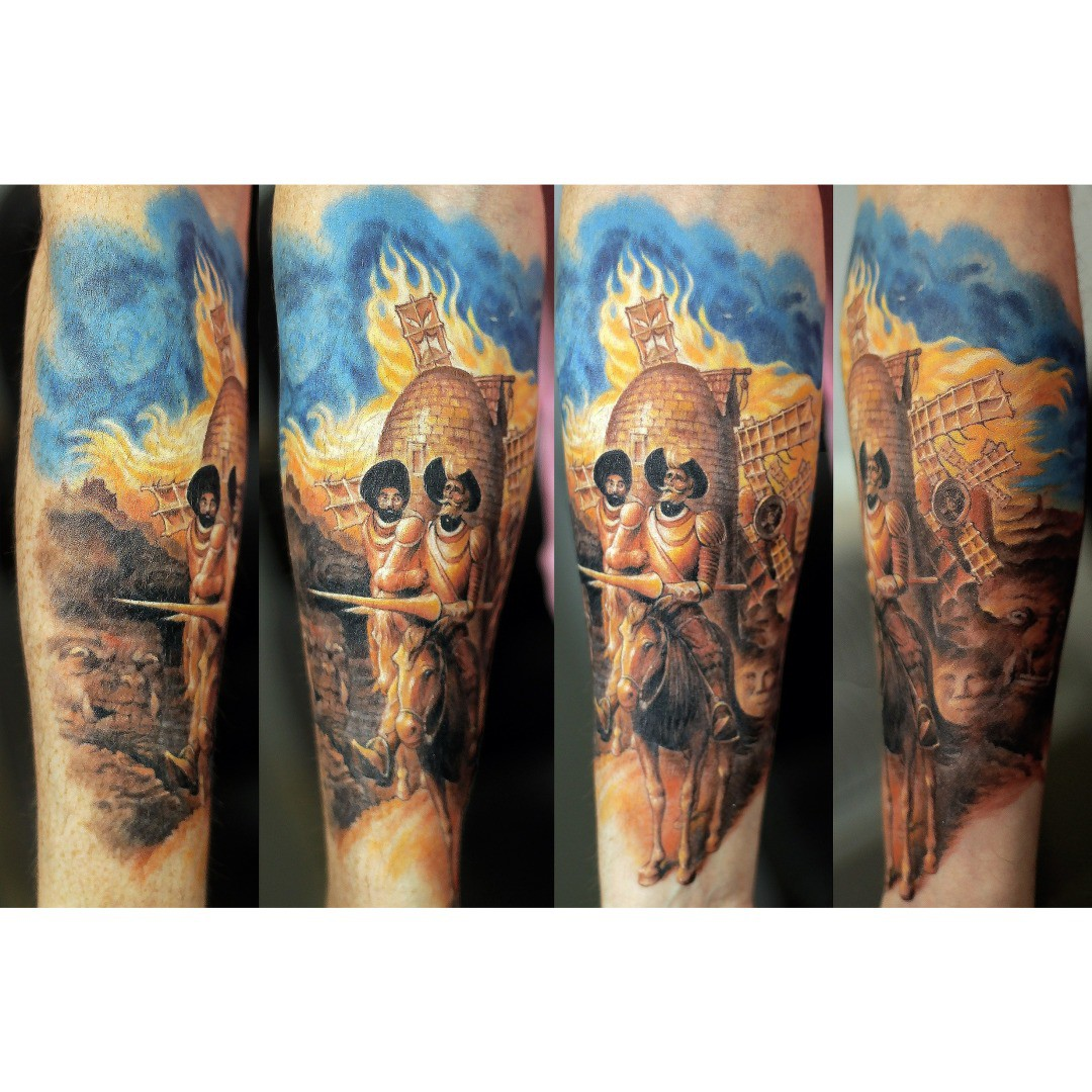 Don Quixote Tattoo
