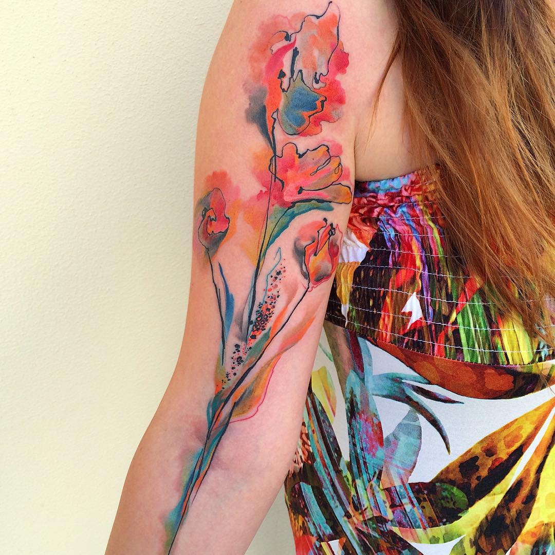 Coolest inner arm tattoos you must see best tattoo ideas gallery flower arm tattoos mightylinksfo