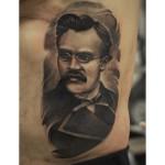 Friedrich Nietzsche Tattoo