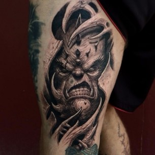 Inner Demon Tattoo