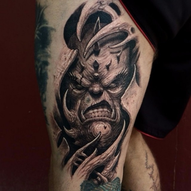 Inner Demon Tattoo