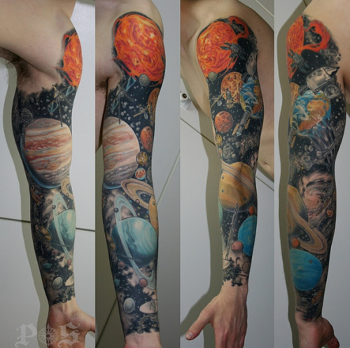 Planets Sleeve