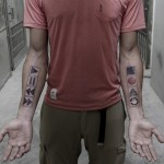 Recorder Buttons Tattoos on Arm