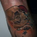 Starter Skull Tattoo