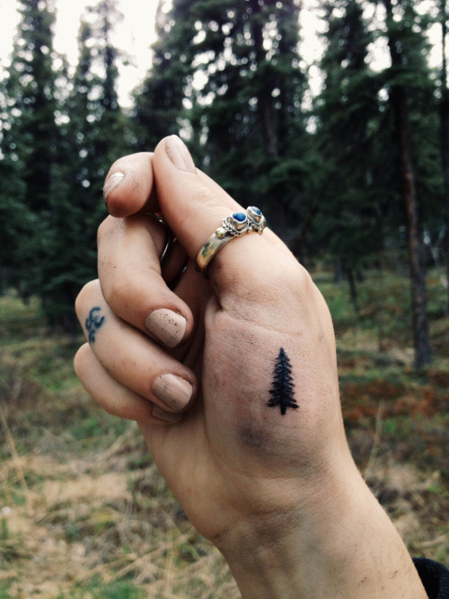 Tree Small tattoo