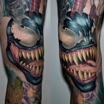 Venom Spider Man Tattoo