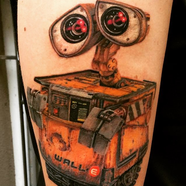 Wall-E Tattoo