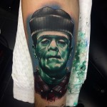 Woodchuck Frankenstein Tattoo