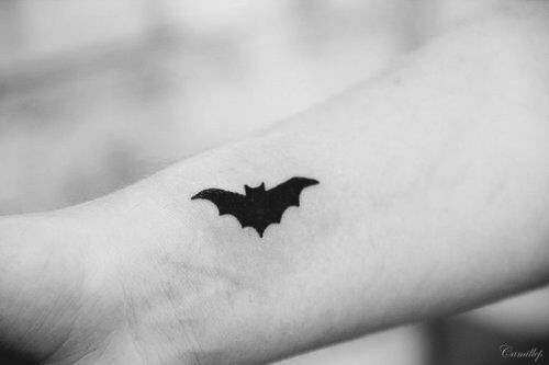 batman small tattoo