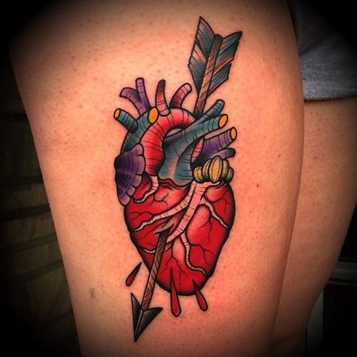 heart tattoo2