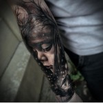 3D Baby Tattoo